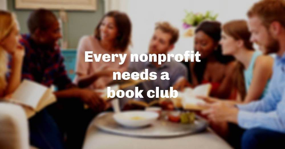 Every nonprofit needs a book club