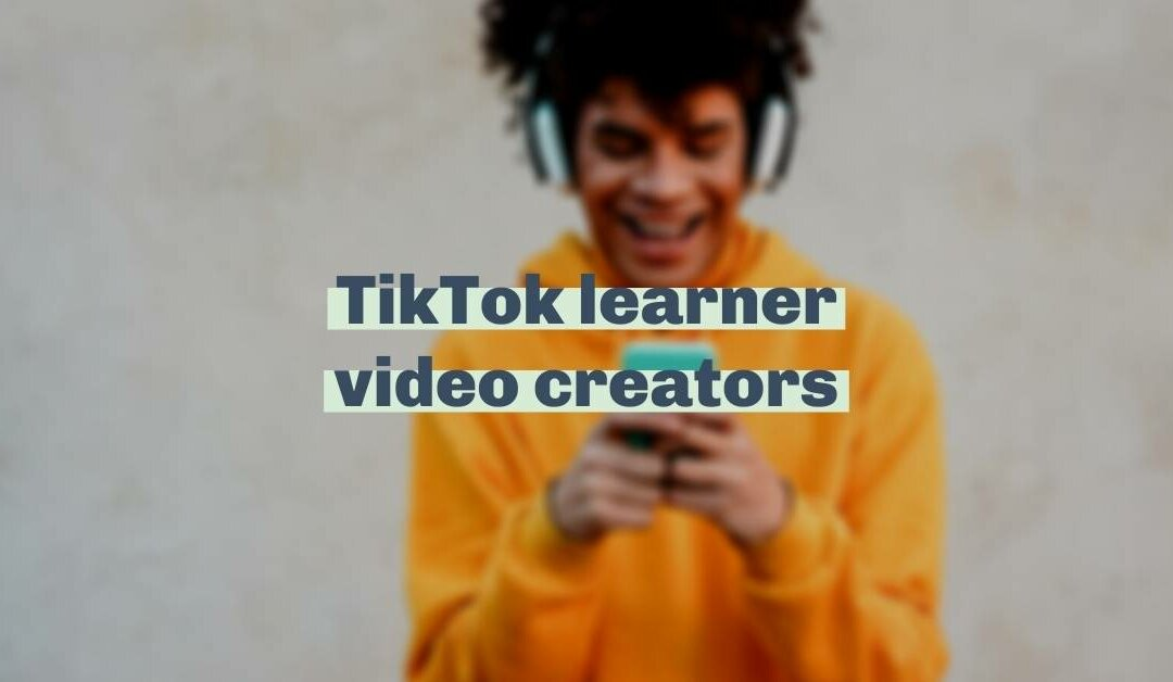 We're thankful for TikTok learner videos