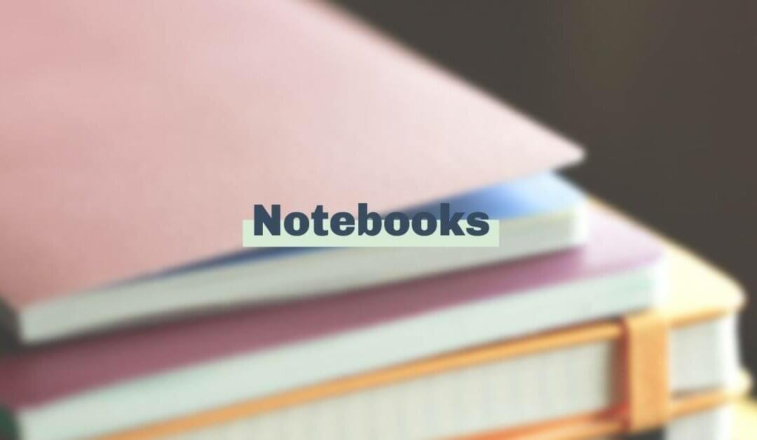 We're thankful for notebooks
