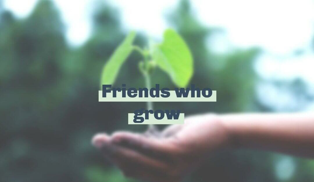 We're thankful for friends who grow