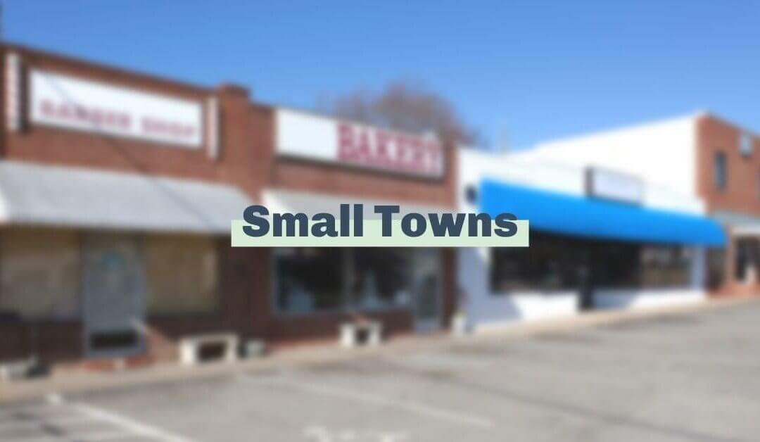 We're thankful for small towns