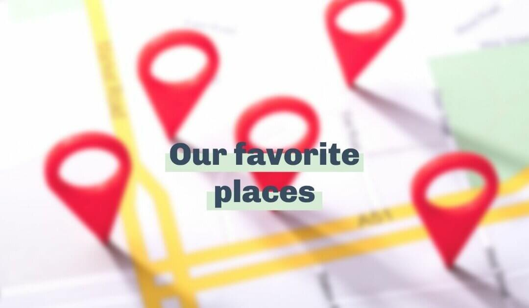 We're grateful for our favorite places